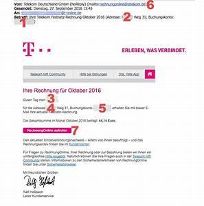 Rechnung Einsehen Telekom : echtheit der telekom rechnung berpr fen ~ Themetempest.com Abrechnung