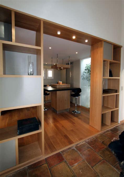 salon cuisine design meuble de separation cuisine salon meuble separation