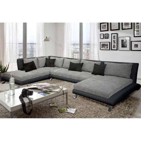 canapé d angle convertible avec coffre canapé d 39 angle en u panoramique moderne et design cayen