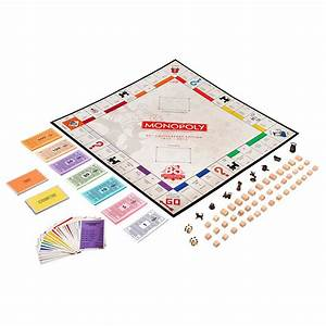 Amazon Com  Hasbro Monopoly Game  80th Anniversary   Toys