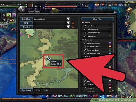 ways  fish  aura kingdom wikihow