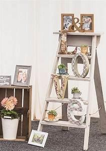 Top, 20, Vintage, Wooden, Ladder, Wedding, Decor, Ideas