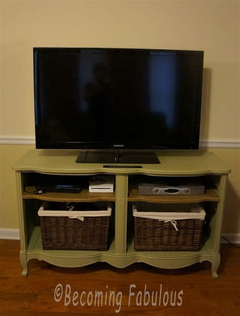 turning a dresser into a tv stand trash to treasure turn a dresser into a tv stand