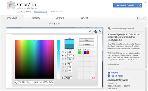 chrome extension color picker the best chrome extensions for designers in 2017