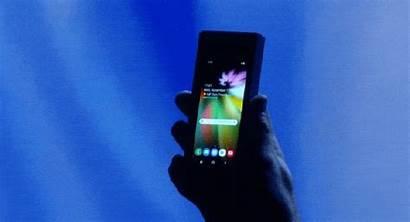 Samsung Foldable Phone Galaxy Fold Folding Iphone