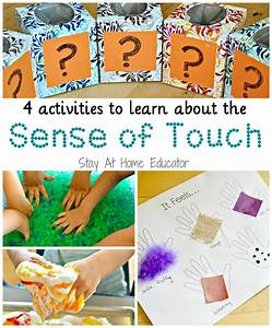 4 activities to learn about the sense of touch in five ...