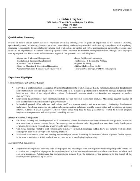 Insurance Claims Processor Resume Templates by Functional Resume