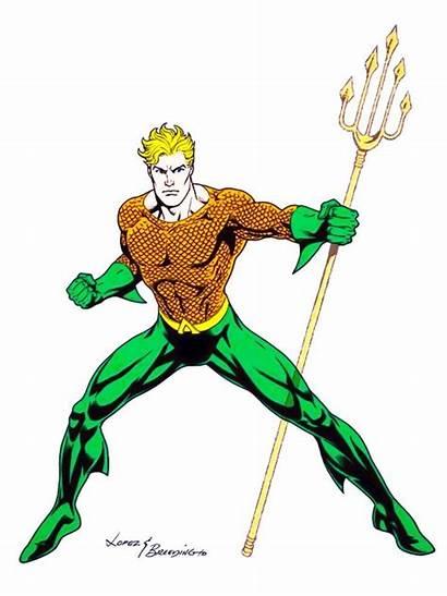 Aquaman Clipart Aqua Garcia Jose Comics Luis