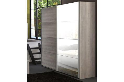 armoire de chambre armoire de chambre 2 portes coulissantes leo cbc meubles