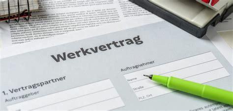 werkvertrag dienstvertrag und werklieferungsvertrag