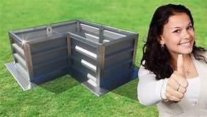 Gefrierschrank Günstig Kaufen : hochbeet metall selber bauen kaufen bausatz bestellen g nstig angebot alu pulverbeschichtet ~ Orissabook.com Haus und Dekorationen