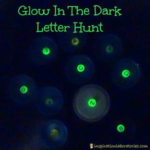 letter practice glow in the dark letter hunt hunt39s With glow in the dark numbers and letters