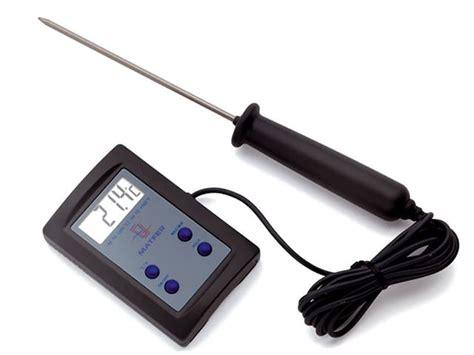 thermometre cuisine sonde thermomètre de cuisson sonde électronique matfer 50 c à