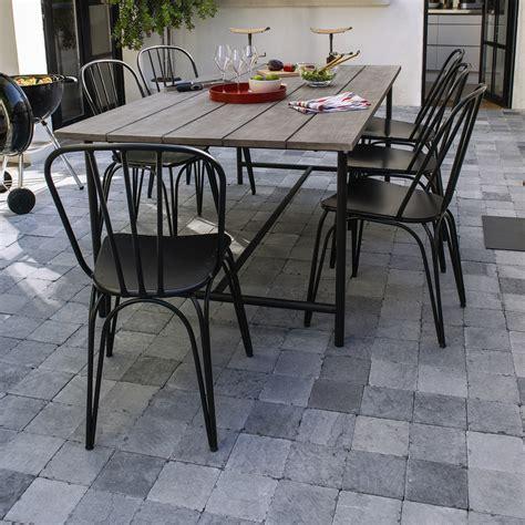 chaise aluminium exterieur chaise de jardin metal maison design wiblia com