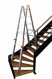 Echelle Pour Escalier : location echelles doubles specifiques pour escaliers 4 ~ Melissatoandfro.com Idées de Décoration