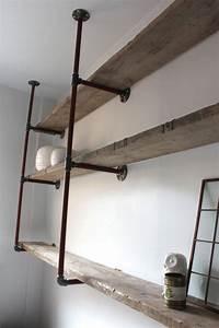 Regal Aus Rohren : idee f r regale mit rohren wardrobe cabinet co ~ Michelbontemps.com Haus und Dekorationen