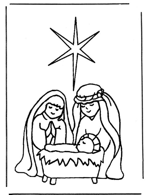 nativity coloring pages for preschool coloringstar 155 | Nativity coloring pages for preschool