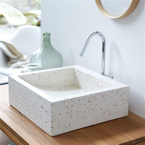 Tikamoon : Pegase Terrazzo Washbasin 40 Confetti