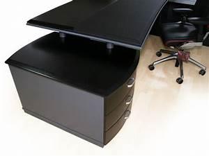 Schreibtisch Glasplatte Schwarz : schreibtisch schwarz bei jourtym b rom bel ~ Markanthonyermac.com Haus und Dekorationen