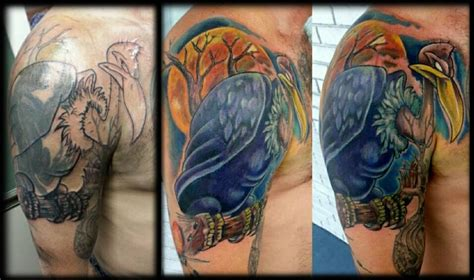 vulture tattoo designs images  pictures