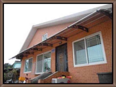 diy    type awning    set   instal youtube