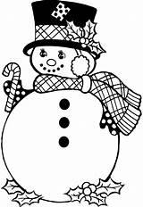 Nieve Colorear Dibujos Imprimir Navidad Muneco Pintar Calendar sketch template