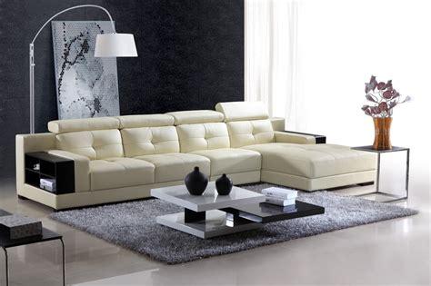salon canapé d angle canape d angle cuir salon pantema canape contemporain d angle cuir 5 places 368x177x98