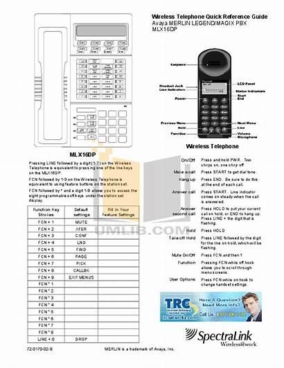 Legend 16dp Merlin Mlx Telephone Avaya Manual