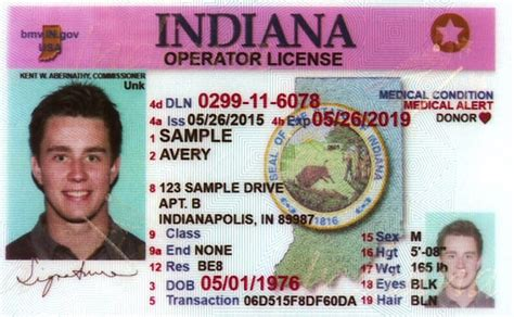 Indiana New Driver's License Application And Renewal 2019