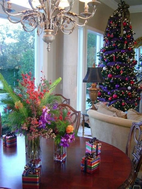 purple and blue christmas decorations 15 great colorful