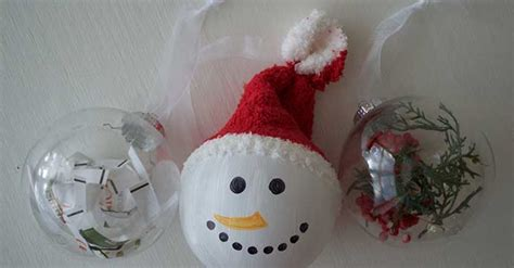 Diy Clear Ball Ornament Ideas For Christmas Diy Christmas Crafts To Sell Bell Craft For Supplies Gifts Toilet Paper Roll Kids Ideas Tree Centerpieces Wedding