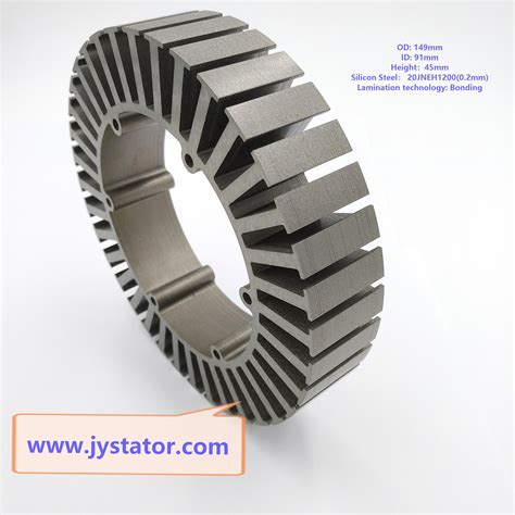 Electric Motor Stator by Motor Stator Bonding Lamination For Electric Vehicle Wheel