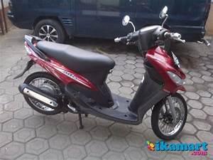 Jual Yamaha Mio Sporty Smile Merah 2008 Akhir