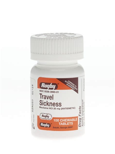 Otc Medicine For Dizziness And Nausea