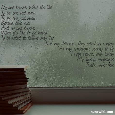 Behind These Eyes Quotes