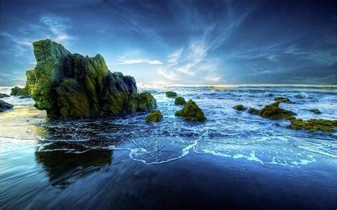 peaceful desktop wallpapers background nature beach serenity ocean places water