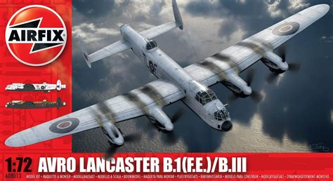 discontinued  airfix avro lancaster bife