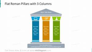 17 Pillar Powerpoint Diagrams And Column Graphics For