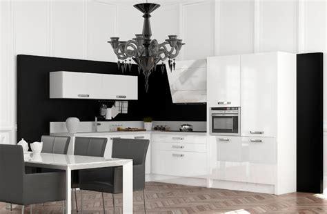 cuisine noir et blanche davaus cuisine moderne et blanche avec des
