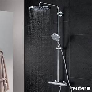 Bester Handmixer Der Welt : grohe rainshower system 310 duschsystem mit thermostatbatterie f r wandmontage 27968000 reuter ~ Fotosdekora.club Haus und Dekorationen