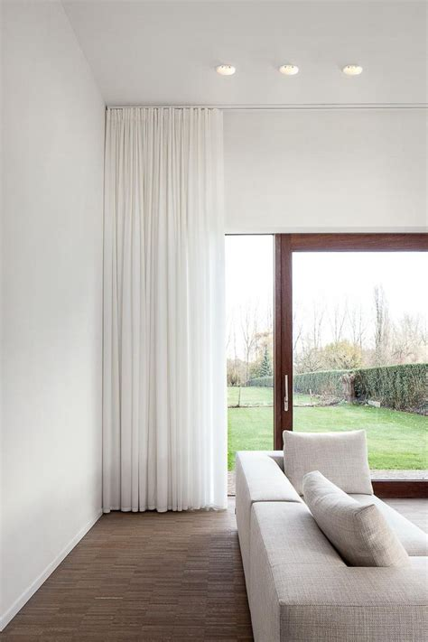 25 best ideas about white curtain tracks on