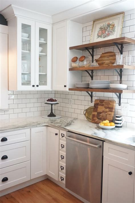 white kitchen cabinets white countertops 20 small kitchen renovations before and after kitchen 1809