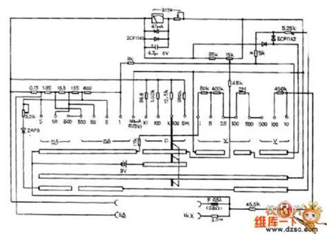 sanwa analog multimeter schematic diagram wiring diagram sierramichelsslettvet