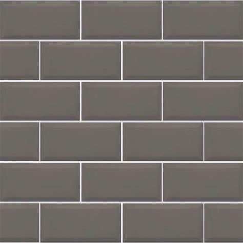 grey brick tiles kitchen metro grey bevelled brick 10x20cm kitchen wall tile 4055