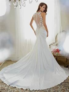 Fit and flare wedding dress with straps naf dresses for Flare wedding dresses