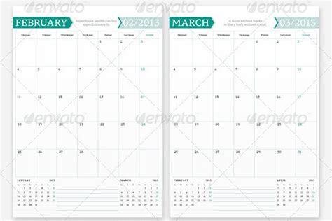 indesign calendar template 20 beautiful indesign calendar templates design freebies