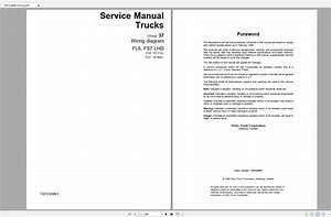 Volvo Fs7 Trucks Service Manual Buses  U0026 Wiring Diagrams