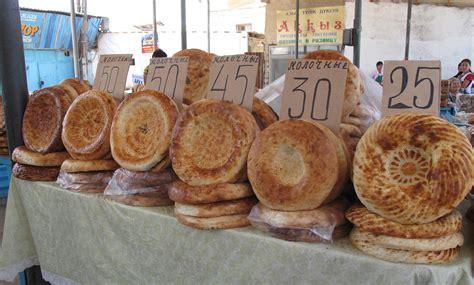 in cuisine bread in kazakhstan taba nan baked in a dung