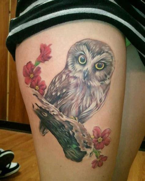 cute owl tattoo designs  ink