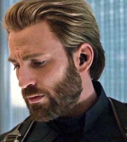 Chris Evans Aka Captain America Haircut New Style